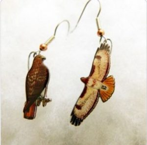Red Tail Earrings Contest Prize