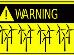 Warning Wind Turbines